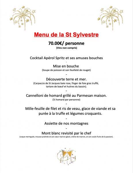 20192020 menu st sylvestre